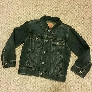 100% Cotton Jacket Kids size 5 LEVIS